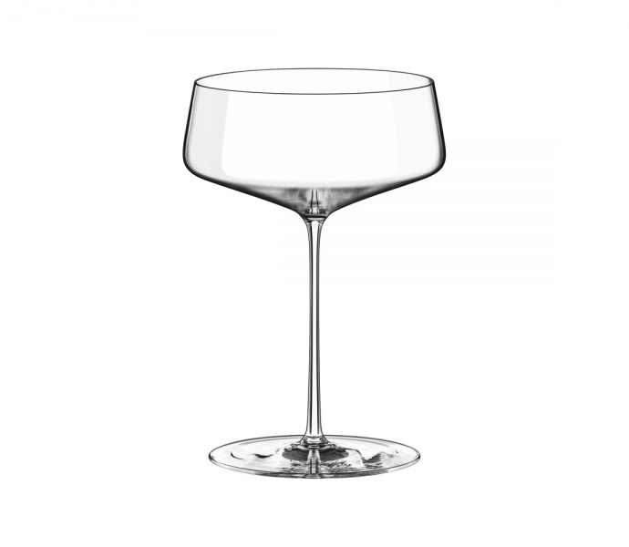 Champagne saucer 540 ml LEANDROS